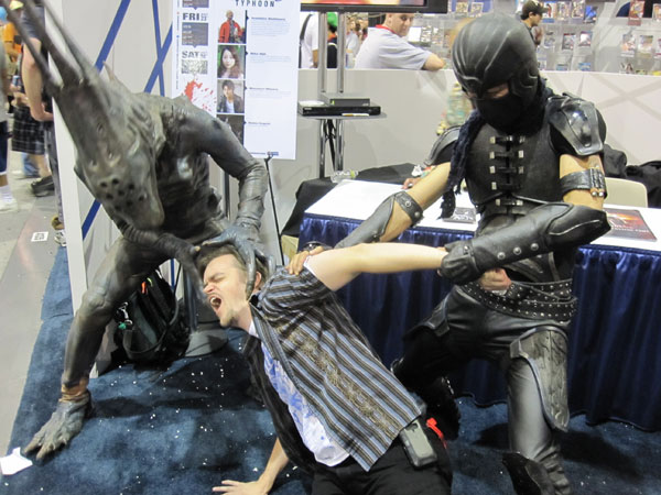 What Goes On at San Diego Comic Con...