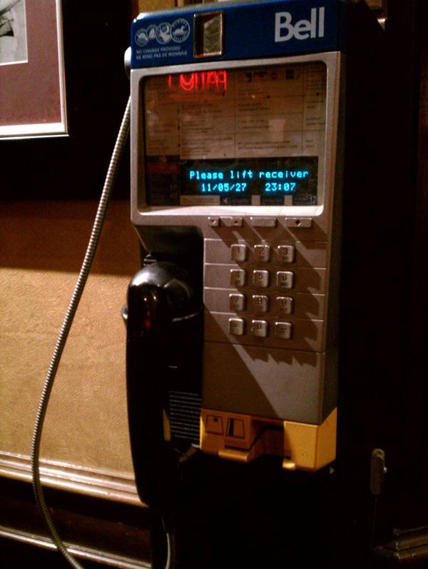 toronto pay phone