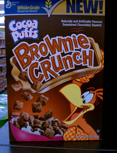 Cocoa Puffs Brownie Crunch